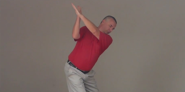 Golf Swing Drill 306  Backswing: Arm Set and Turn | Golf